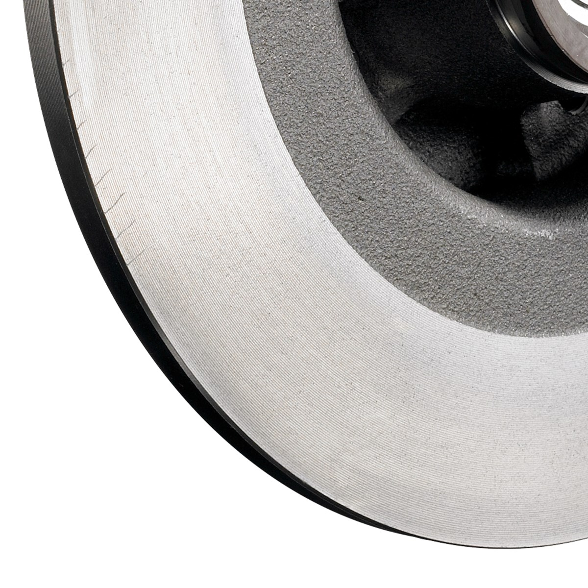 Brake discs with integrated wheel bearings - detail view