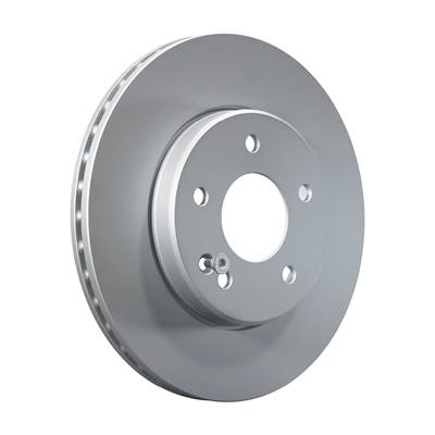 Brake discs with fixing screws